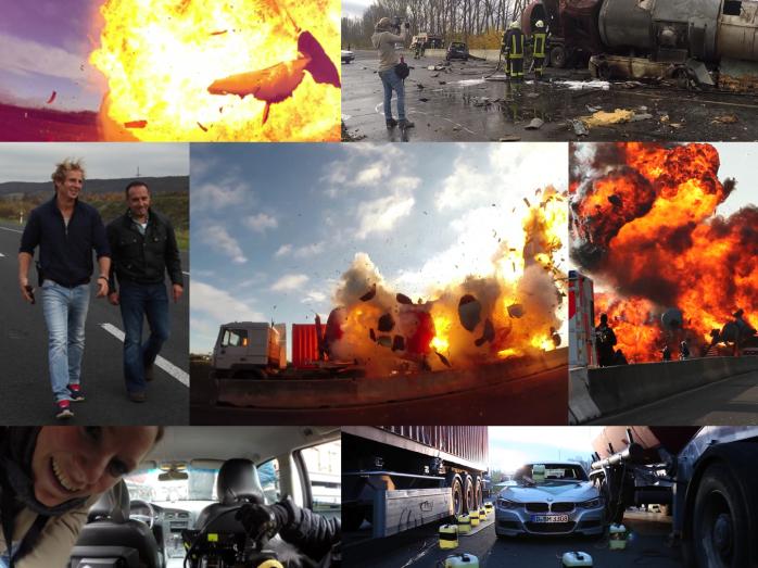 """Uuuund Action! Und was für eine! Ich war zwei Tage am Set von """"Alarm für Cobra 11"""" und wir haben einen Beitrag über das Stuntteam von """"Action Concept"""" gedreht. Geplant und umgesetzt wurde ein Stunt, b"""